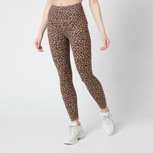 "Varley Women's Century 2.0 25"" Leggings - Coffee Cheetah"