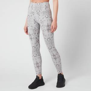 "Varley Women's Century 2.0 25"" Leggings - Taupe Grey Snake"