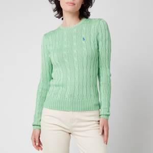 Polo Ralph Lauren Women's Julianna Classic Sweatshirt - Bud Green