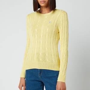Polo Ralph Lauren Women's Julianna Classic Sweatshirt - Bristol Yellow