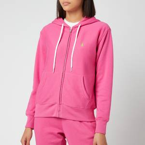 Polo Ralph Lauren Women's Long Sleeve Zip Up Hooded Top - Peony