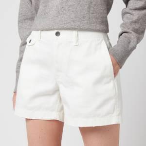 Polo Ralph Lauren Women's Slim Chino Shorts - Warm White