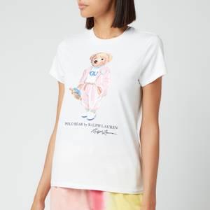 Polo Ralph Lauren Women's Picnic Bear T-Shirt - White