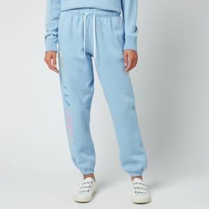 Polo Ralph Lauren Women's Logo Sweatpants - Chambray Blue