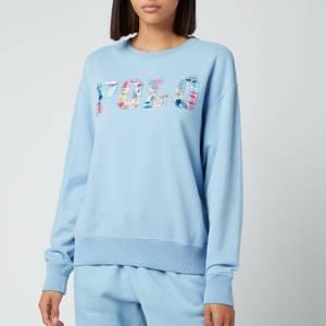 Polo Ralph Lauren Women's Patch Logo Sweatshirt - Alpine Blue
