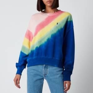 Polo Ralph Lauren Women's Tie Dye Sweatshirt - Multi
