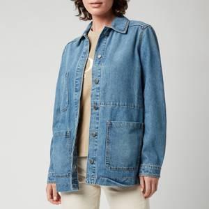 BOSS Women's Denim Jacket 5.0 - Medium Blue