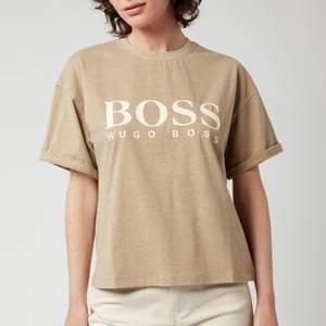BOSS Women's Evina T-Shirt - Medium Beige