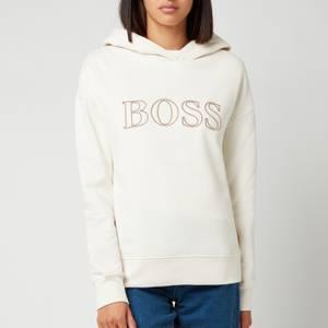 BOSS Women's Efessa Hoodie - Open White