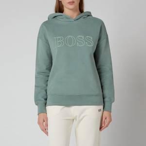 BOSS Women's Efessa Hoodie - Light/Pastel Green