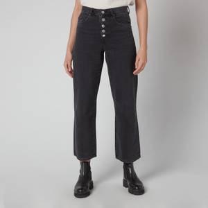 BOSS Women's Modern Barrel 2.0 Jeans - Charcoal