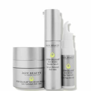 Juice Beauty STEM CELLULAR Anti-Wrinkle Solutions Kit 3 piece