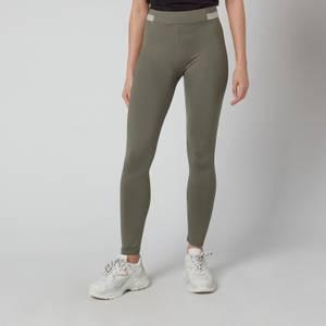BOSS Women's C_Erina1_Active Leggings - New Olive