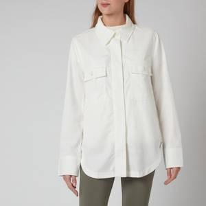 BOSS Women's C_ B Ohox T On Overshirt - Soft Cream
