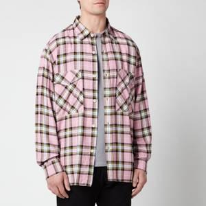 Edwin Men's Big Shirt - Pink