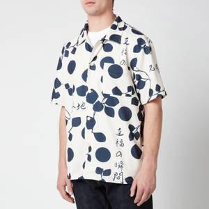 Edwin Men's Moment Of Bliss Pique Shirt - Whisper White