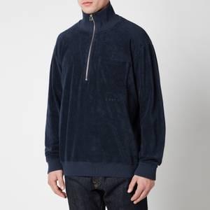 Edwin Men's Training Half Zip Sweatshirt - Navy Blazer