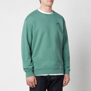 Edwin Men's Base Crewneck Sweatshirt - Blue Spruce
