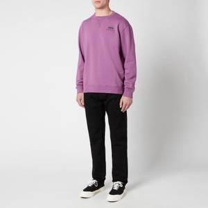 Edwin Men's Base Crewneck Sweatshirt - Chinese Violet