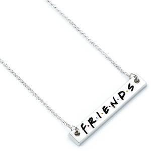 Friends Logo Bar Necklace