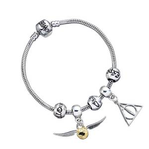 Harry Potter Charm & Bracelet Set