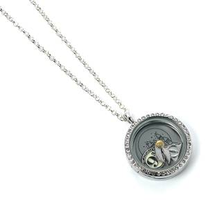 Harry Potter Floating Charm Locket Necklace
