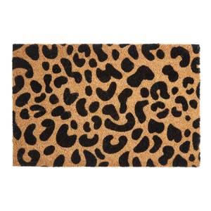 Leopard Print Doormat - Coir