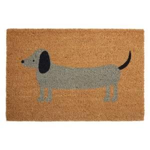 Daschund Doormat - Coir