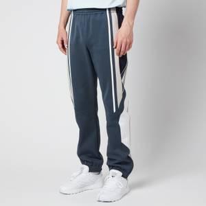 Martine Rose Men's Twix Track Pants - Dark Grey/Black