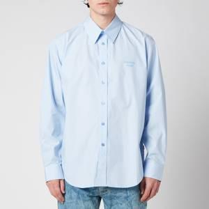 Martine Rose Men's Classic Long Sleeve Shirt - Light Blue