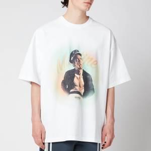 Martine Rose Men's Brittle T-Shirt - White Sailor