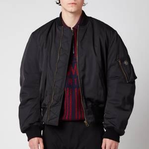 Martine Rose Men's Classic Bomber Jacket - Black