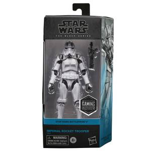 Hasbro Star Wars The Black Series Gaming Greats Imperial Rocket Trooper Action Figure