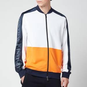 Armani Exchange Men's Sleeve Logo Colourblock Jacket - Multi