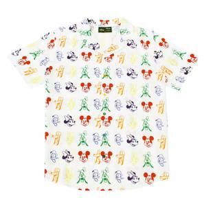 Cakeworthy Rainbow Sensational 6 Camp Callar Shirt