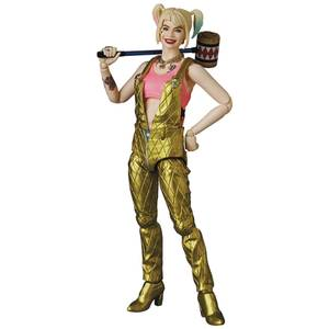 Medicom Birds Of Prey MAFEX Action Figure - Harley Quinn (Overalls Version)