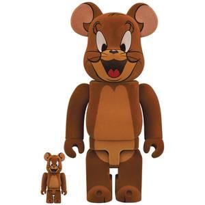 Medicom Tom & Jerry Flocky Jerry 100% X 400% Be@rbrick 2-pack