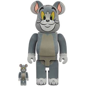 Medicom Tom & Jerry Flocky Tom 100% X 400% Be@rbrick 2-pack