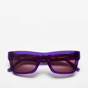 Sun Buddies Men's Greta Sunglasses - Deep Purple