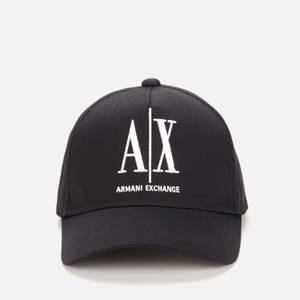 Armani Exchange Men's Icon Baseball Cap - Black