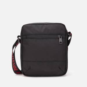 Armani Exchange Men's Tape Logo Cross Body Bag - Black/Red