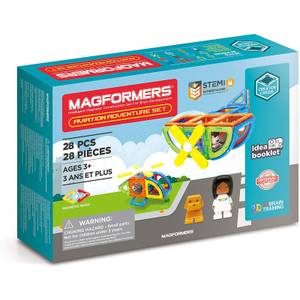 Magformers - Aviation Adventure Magnetic Set