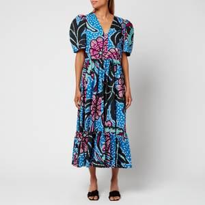 Rhode Women's Nisha Dress - Purple Psychedelic Flower