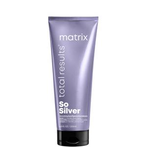 Matrix Total Results Exclusive So Silver Purple Toning Hair Mask for Blonde, Silver & Grey hair 200ml