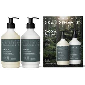 SKANDINAVISK Hand Wash & Hand/Body Lotion Duo - Skog - 2 x 450ml