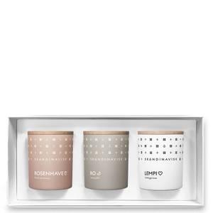 SKANDINAVISK Sense Gift Set - Rosenhave - Ro - Lempi - Set of 3