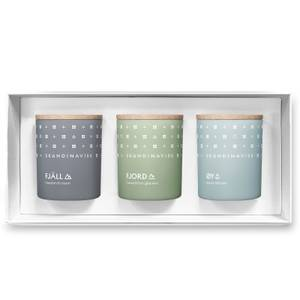 SKANDINAVISK Explore Gift Set - Fjall - Ford - Øy - Set of 3