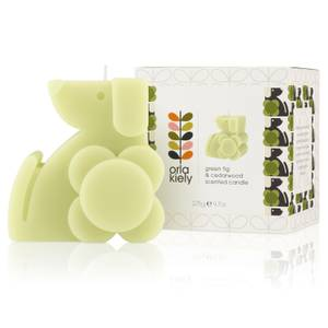 Orla Kiely Moulded Dog Candle - Fig & Cedarwood