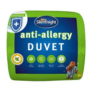 Silentnight Antiallergy 4.5 Tog Duvet Single