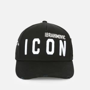 Dsquared2 Men's Icon Ibrahimovic Baseball Cap - Black